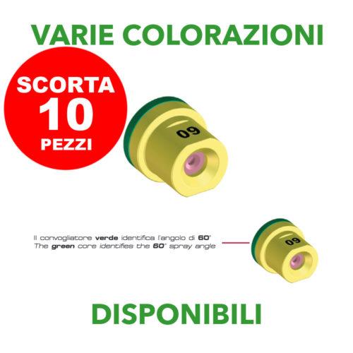 Confezione 10 ugelli Albuz Atr 60 by Braglia
