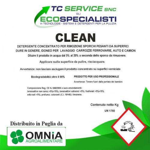 clean detergente distribuito in puglia da omnia agroalimentare puglia bari